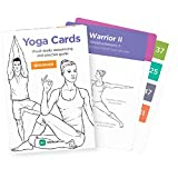 YOGA CARDS by WorkoutLabs: Premium Visual Practice Guide with Essential Poses, Breathing Exercises and Meditation – Women's
