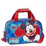 Karactermania Mickey Mouse Let'S Play Bolsa de Deporte Infantil, 38 cm, Azul