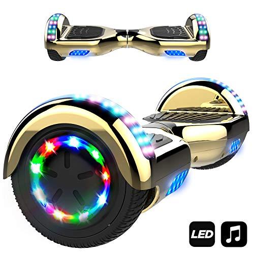 MARKBOARD Hover Board 6.5 inch con Bluetooth Scooter Elettrico Auto bilanciamento Monopattino...