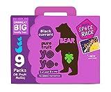 Bear Fruit Yoyos Blackcurrant Family Pack 9 x 20g