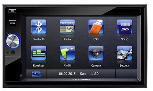 Blaupunkt San Marino 330 6.2 inch Touchscreen, Bluetooth Car Multimedia Player (2 DIN)