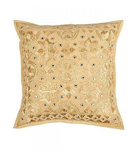 ganesham Handi Crafts- Cuscino cuscino a mano indiano Hippie, divano decorativo Boho Chic, cuscino...