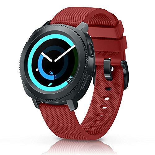 NotoCity Cinturino per Garmin Vivoactive 3/Vivomove HR/Samsung Gear S2/Samsung Galaxy 42mm/Huawei Watch 2, Cinturino di Ricambio in Silicone,Quick-Fit, Colori Multipli