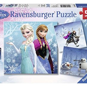 Ravensburger Puzzle 092642, Frozen, Puzzle 3x49 Piezas, Puzzle Niños, Edad Recomendada 5+ , Rompecabezas Ravensburger