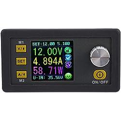 KKmoon Módulo de Corriente programable de tensión Constante LCD Digital Fuente de alimentación de Bajada (Tipo2)