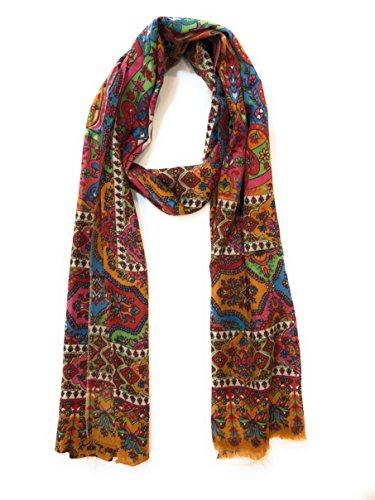 ccbf88a843 Pashtush Women's Stole Printed Design Stole, Kalamkari Design, Hand ...