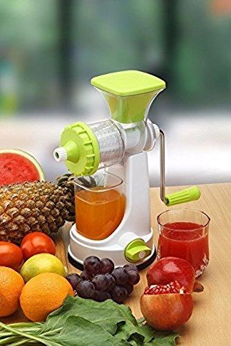 Ganesh Plastic Fruit and Vegetable Juicer, Green