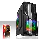 Fierce PHOEBUS 8 RGB/RVB PC Gamer - Vite 4.4GHz Quad-Core AMD Athlon X4 880K, 1To Disque Dur, 8Go of 1600MHz DDR3 RAM / Mémoire, NVIDIA GeForce GTX 1050 2Go, Gigabyte F2A68HM-HD2 Carte Mère, GameMax Prism Black RGB/RVB Boite D'ordinateur, HDMI, USB3, Wi - Fi, Parfait pour un jeu compétitif, Windows non Inclus, 3 Ans De Garantie 193669