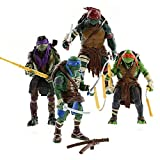 Tortues Ninja jeu de caractères 4 figurines + accessoires 4310