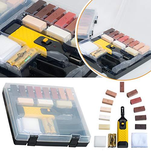 Kit di utensili per la riparazione di pavimenti e mobili con piano di lavoro in laminato Safekom 19...