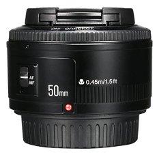 Yongnuo YN 50mm F / 1.8 AF / MF Gran Apertura Lente de Enfoque Automático para Canon EF Monte EOS Cámara LF651