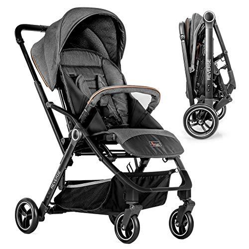 Hoco Buggy Reverse - Passeggino leggero, seduta reversibile fronte mamma e fronte strada, con...