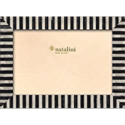 Natalini KT  20 B  N 13x 18Bilderrahmen, Holz/Glas schwarz/weiß 21x 16x 1,5cm