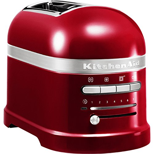Tostapane Artisan a 2 scomparti 5KMT2204,Rosso, 220 - 240 V, 50 - 60 Hz