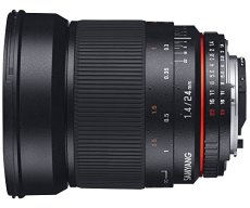 Samyang 24mm F1.4 ED AS IF UMC SLR - Objetivo (SLR, 13/12, Objetivo Ancho, 0,25 m, 2,4 cm, APS-C, Marco Completo)
