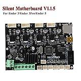 Creality3D Nouvelle Mise à Niveau De La Carte Mère Silencieuse, Version 1.1.5 De La Carte Mère Avec Pilotes TMC2208, Carte Contrôleur 24 V Pour Ender 3