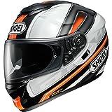 Shoei GT-Air Dauntless TC-8 Motorradhelm, Farbe schwarz-weiss-orange, Größe L