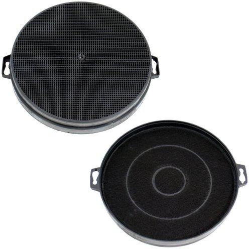 DREHFLEX - AK01-2 - 2 filtri a carbone (SPARSET) diametro 210mm per cappa, cappa, cappa, cappa...