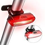 Luce Posteriore per Bicicletta LED USB Ricaricabile, SGODDE 4 Modalità Potente di Luce Super Luminoso e Facile da Installare Rosso Fanale Posteriore, Impermeabile IPx6 per Ottimale Ciclismo Sicurezza