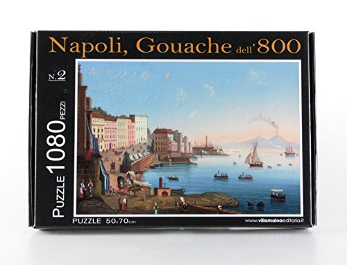 Napoli puzzle collection 'Gouache dell'800 N° 2' pz. 1080 Dimensioni 50x70