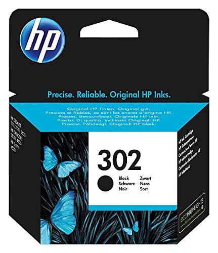 HP 302 F6U66AE Cartuccia Originale per Stampanti a Getto di Inchiostro, Compatibile con Stampanti HP...