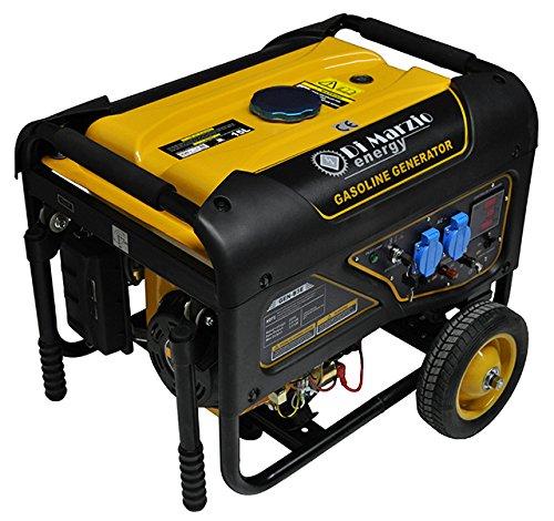 Generador eléctrico 3KW - Gasolina - Grupo electrógeno - Arranque eléctrico con control remoto