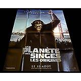 Il pianeta delle scimmie le origini, motivo: manifesto del film 120 x 160-2011, Andy-Serkis Rupert Wyatt