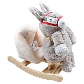 Knorrtoys 40382 juguete de montar - Juguetes de montar (Apertura por empuje, Animal para montar, Gris, Madera, Niño…