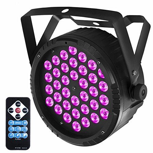Eyourlife 36W UV Par LED Palcoscenico Proiettore Barra Luce Viola Blacklight con Telecomando senza...