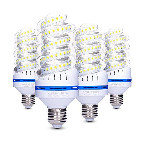 Bro.Light Lampadina LED E27, 20 W Lampade Equivalenti a 150W, 1700 lumen, Luce Bianca 6000k...