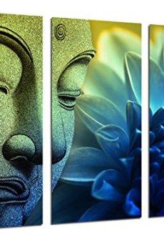 Cuadro Fotográfico Buda Buddha, Relajacion, Relax, Zen Tamaño total: 97 x 62 cm XXL