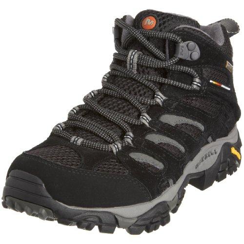 Merrell Moab Mid Gtx, Chaussures de randonnée tige basse femme - Noir (Black), 37 EU