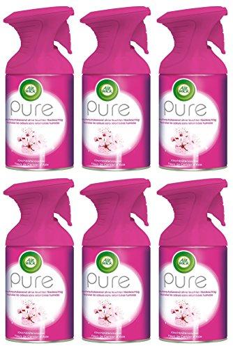 Air Wick Premium Spray Pure Cerisiers magique 250ml Lot de 6 21