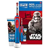 Oral-B Stages Power Kids Electric Toothbrush Featuring Star Wars Characters, Gift Pack Including Toothpaste by Oral-B