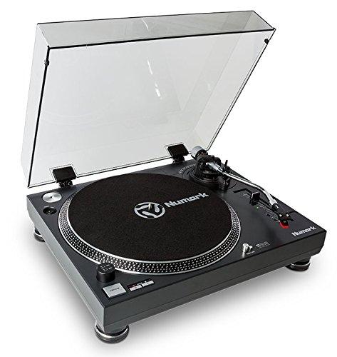 Numark TT250USB - Giradischi Professionale per DJ a Trazione Diretta e Coppia Elevata, Piatto in...