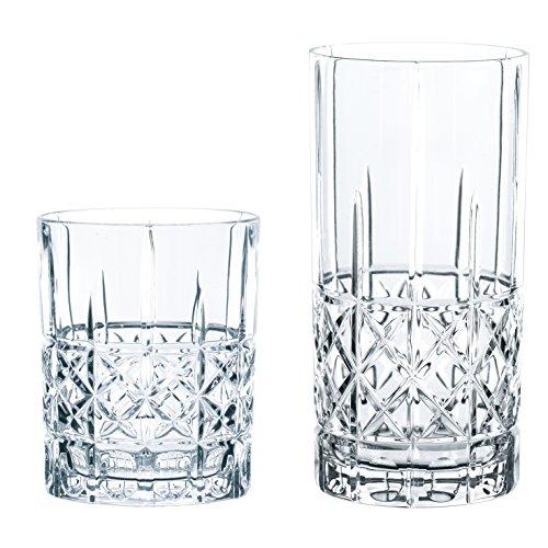 Spiegelau & notte uomo 100719Set di Bicchieri, 12pezzi, Highland Diamond, Vetro, Trasparente,...