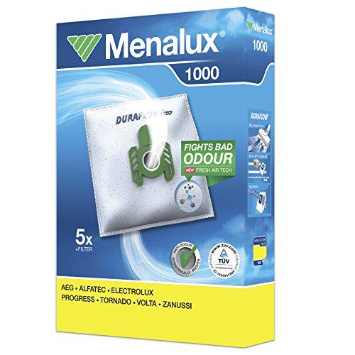 MENALUX 1000+1 FILTRO SUPPLEMENTARE,5xSTAUBBEUTEL GORENJE TITAN VCK 2000 EA,MIOSTAR VAC 3600