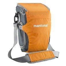 Mantona Elements Pro Colt Bolsa de Hombro para cámara–Gris/Naranja