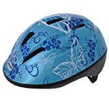 Oxford Little Explorer Blue Butterfly Bike Helmet Size 46-53cm
