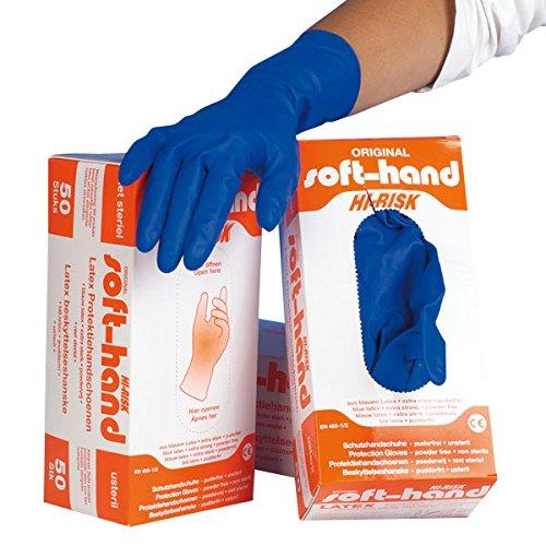hi-risk morbidi guanti (Confezione da 50)