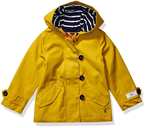 Joules Coast Impermeabile, Antique Gold Antgold, 9-10 Anni Bambina