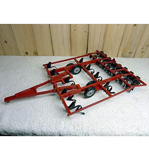 QLRL 1:16 14820 Accesorios para Tractores Vintage Modelo de vehículo agrícola arado Modelo de colección de aleación