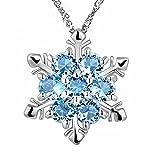 Laat collana elegante collana in cristallo delle donne Collana ciondolo gioielli per decorazione delle ragazze