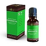 Mejor hierbabuena aceite esencial por cielo organics-100% Orgánico, puro grado Terapéutico menta...