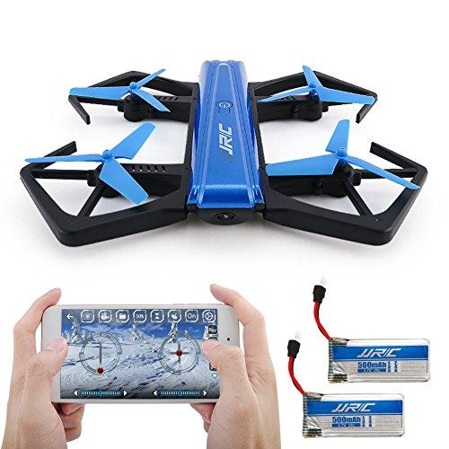 Drone Pieghevole, Kingtoys JJRC H43WH 720P WIFI Camera con Auto Beauty Mode, G-sensor Model,...