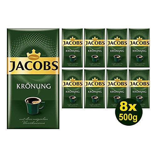 Jacobs KRÖNUNG gemahlen 8x 500g (4000g) - Jacob\'s Filterkaffee, Kaffee