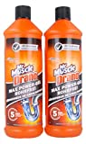 Drano Power Gel, 2er Pack (2 x 1000 ml)
