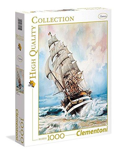 Clementoni 39415-Puzzle Amerigo Vespucci, Colori Assortiti, 39415