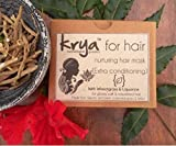 Krya Conditioning Hair nurturing Herbal Mask – with 25 rich Ayurvedic herbs & organic cold pressed oils to nurture, nourish & rejuvenate Dry scalp, & Split ends. Smoothens & improves Frizzy & Static filled hair. Reduces Hair breakage & Improves hair growth - SLS free, SLeS free, Sulphate free, Paraben free, Mineral oil free, Synthetic fragrance & colour free, Silicone free, Chemical free , All Natural - 100 gm