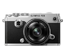 Olympus Pen-F - Cámara Evil con estabilizador, Color Plata - Kit con Objetivo M. Zuiko 17 mm f1.8